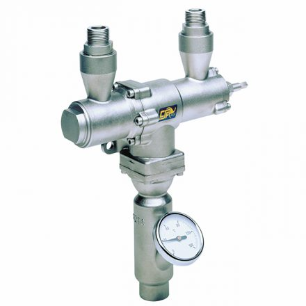 CSF Steam Water Mixers in Stainless Steel