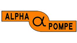 alpha pompe logo