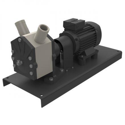 ASV Stuebbe L Series Eccentric Plastic Pumps