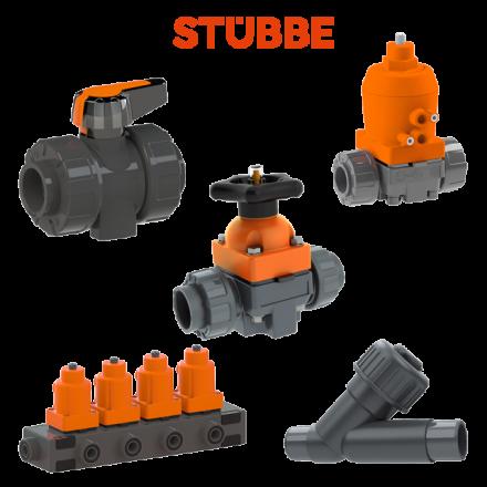 ASV Stuebbe PVC-U, PP, PVDF Plastic Valves