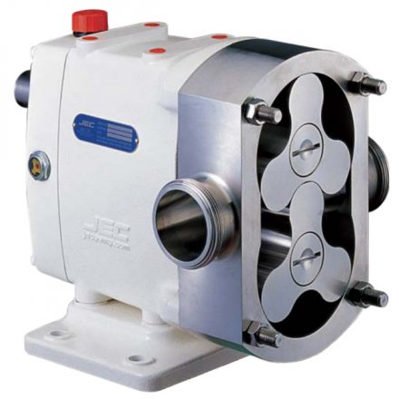 Trilobe Stainless Steel Rotary Lobe Pump