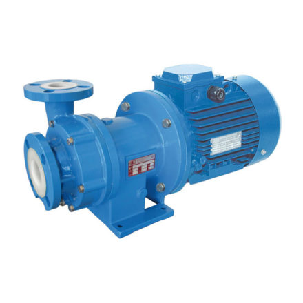 Plastic Lined Magnetic Drive Centrifugal Pumps
