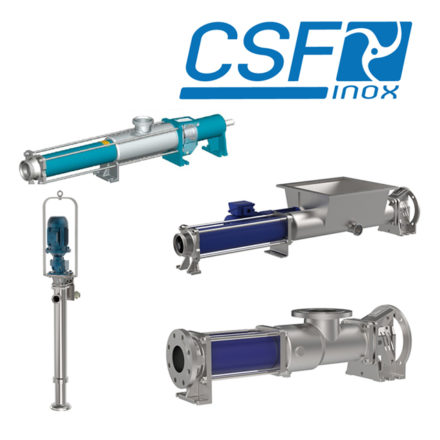 CSF Hygienic Progressive Cavity Pumps Spares and Repairs